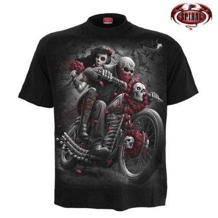 Tričko krátký rukáv pánské - SPIRAL DOTD Bikers