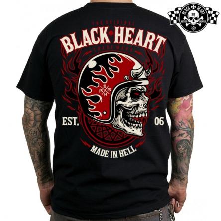 Tričko pánské BLACK HEART Hatter
