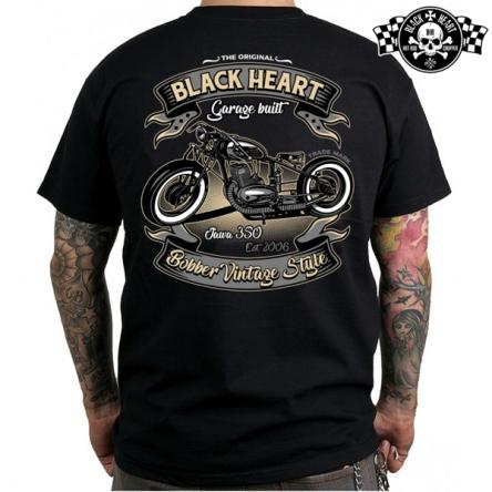 Tričko pánské BLACK HEART Jawa bobber