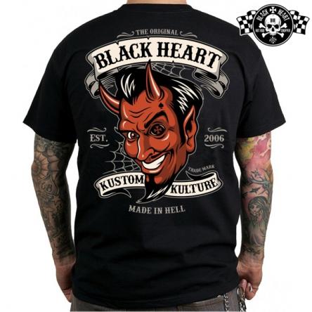 Tričko pánské BLACK HEART Lucifer
