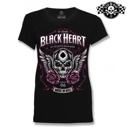 Tričko dámské BLACK HEART Royal