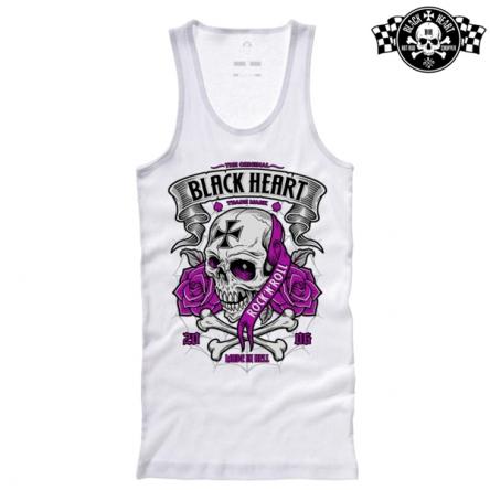 Tílko dámské BLACK HEART Crusty Demons WHT