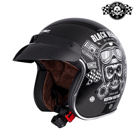 Helma BLACK HEART V541 Piston Skull