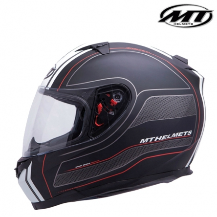 Helma MT BLADE SV RACELINE MATT BLACK/RED