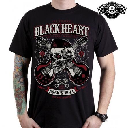 Tričko pánské BLACK HEART RockaBilly Boy