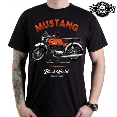 Tričko pánské BLACK HEART Mustang