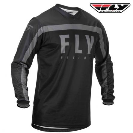 dětský dres FLY RACING F-16 2020 (černá/šedá)