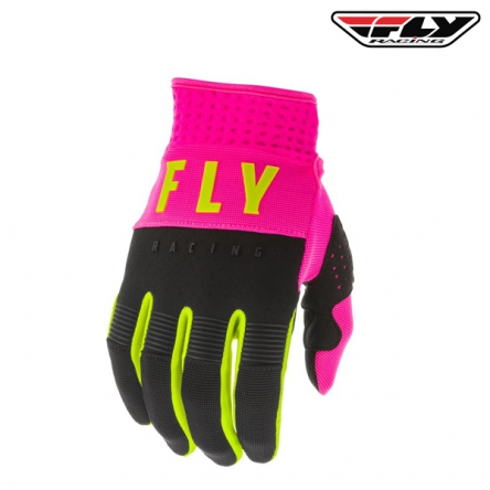 dětské rukavice FLY RACING F-16 2020 (růžová/černá)