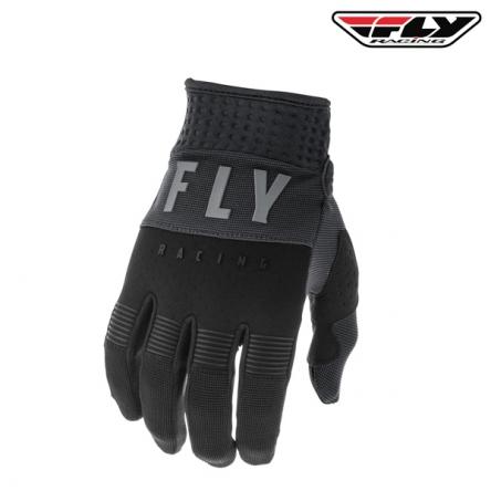 dětské rukavice FLY RACING F-16 2020 (černá/šedá)