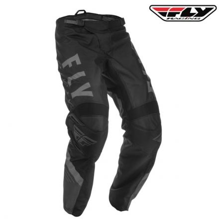 dětské kalhoty FLY RACING F-16 2020 (černá/šedá)