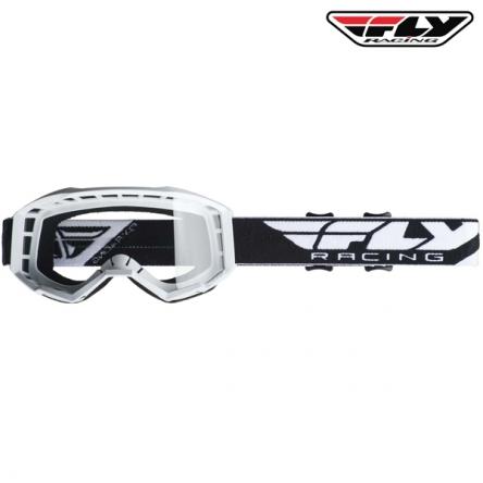 Brýle FLY RACING Focus 2020 (bílé)