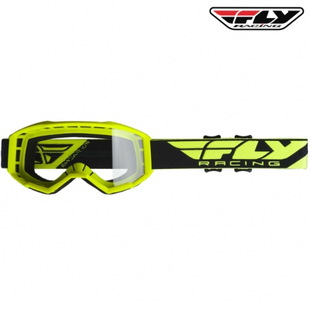 Brýle FLY RACING Focus 2020 (hi-vis)