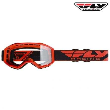 Brýle FLY RACING Focus 2020 (oranžové)