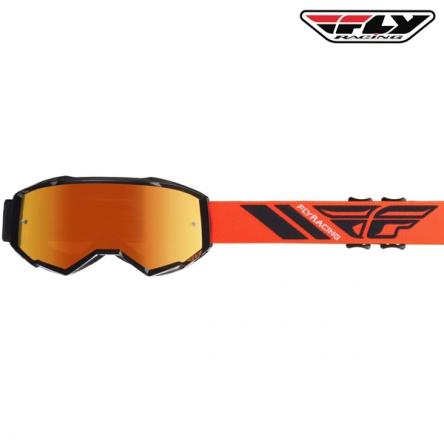 Brýle FLY RACING Zone 2020 (černé/oranžové)
