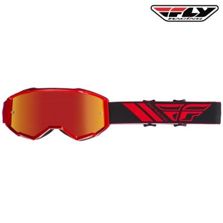 Brýle FLY RACING Zone 2020 (červené)