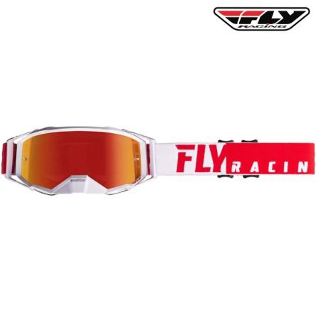 Brýle FLY RACING Zone Pro 2020 (červené/bílá)