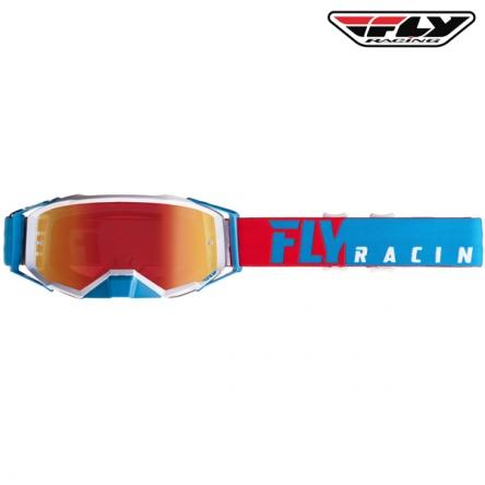 Brýle FLY RACING Zone Pro 2020 (červené/modré)