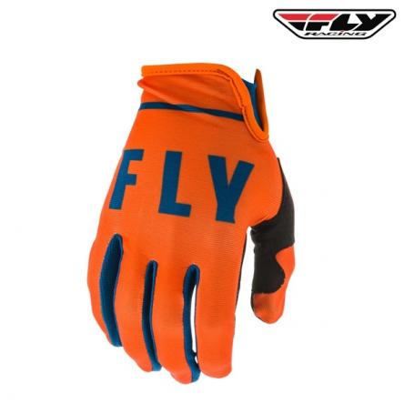 Rukavice FLY RACING Lite 2020 (oranžová/navy)