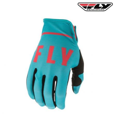Rukavice FLY RACING Lite 2020 (modrá/červená)