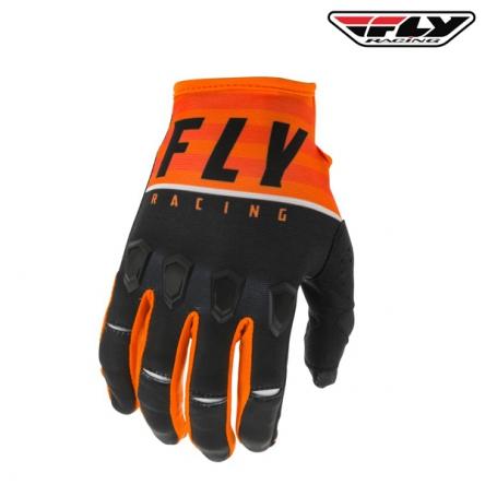 Rukavice FLY RACING Kinetic K120 2020 (oranžová/černá)