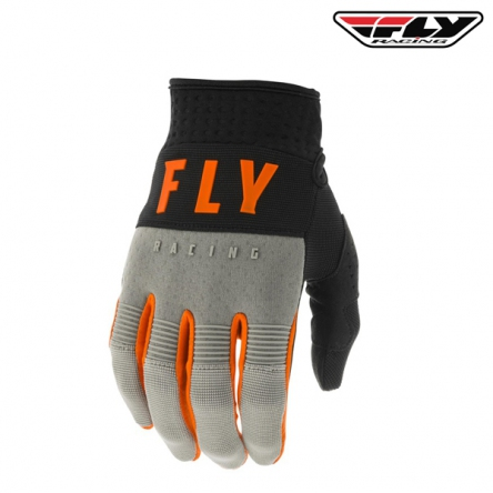 Rukavice FLY RACING F-16 2020 (šedá/oranžová)