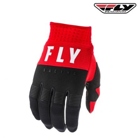 Rukavice FLY RACING F-16 2020 (červená/černá)