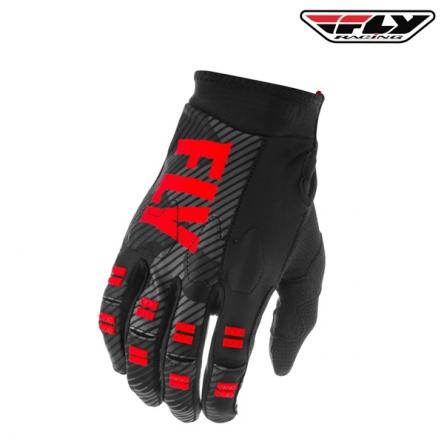 Rukavice FLY RACING Evo 2020 (červená/černá)