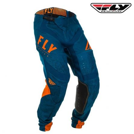 Kalhoty FLY RACING Lite 2020 (oranžová/modrá)