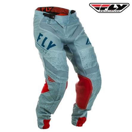 Kalhoty FLY RACING Lite 2020 (červená/modrá)