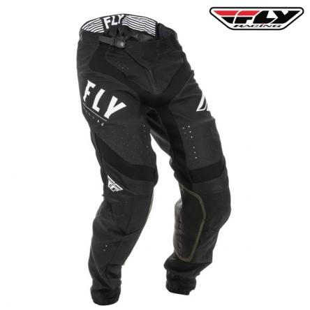 Kalhoty FLY RACING Lite 2020 (černá/bílá)