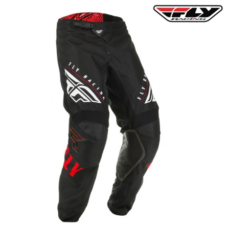 Kalhoty FLY RACING Kinetic K220 2020 (červená/černá)