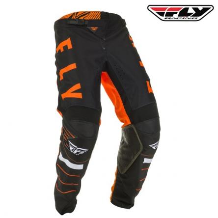 Kalhoty FLY RACING Kinetic K120 2020 (oranžová/černá)