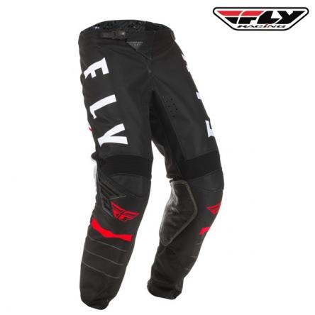 Kalhoty FLY RACING Kinetic K120 2020 (černá/bílá)