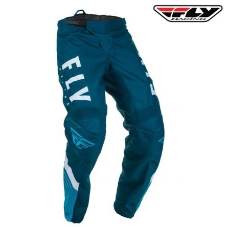 Kalhoty FLY RACING F-16 2020 (modrá/bílá)