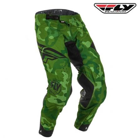 Kalhoty FLY RACING Evolution 2020 (zelená/černá)