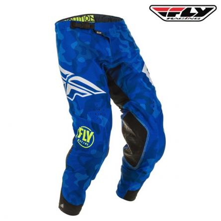 Kalhoty FLY RACING Evolution 2020 (modrá/bílá)