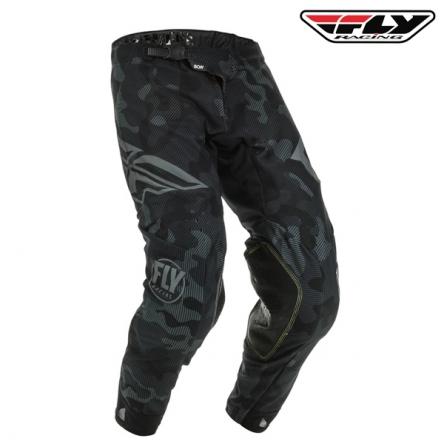 Kalhoty FLY RACING Evolution 2020 (černá/šedá)