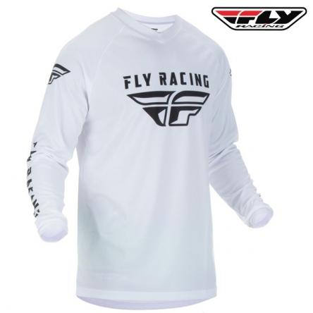 Dres FLY RACING Universal 2020 (bílá)