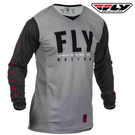 Dres FLY RACING Patrol 2020 (černá/šedá)