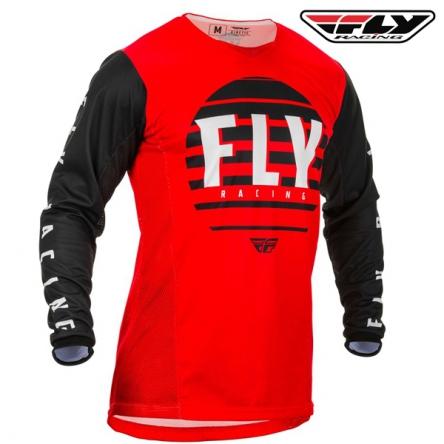 Dres FLY RACING Kinetic K220 2020 (červená/černá)