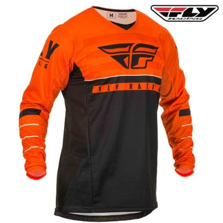 Dres FLY RACING Kinetic K120 2020 (oranžová/černá)