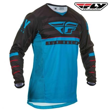 Dres FLY RACING Kinetic K120 2020 (modrá/černá)