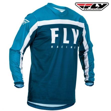 Dres FLY RACING F-16 2020 (modrá/bílá)