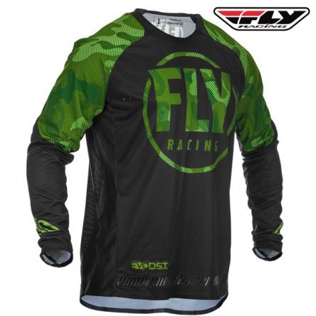 Dres FLY RACING Evolution 2020 (zelená/černá)