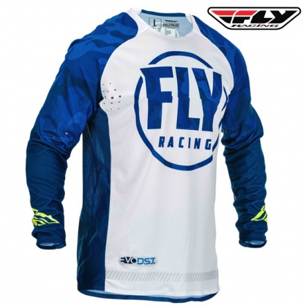 Dres FLY RACING Evolution 2020 (modrá/bílá)