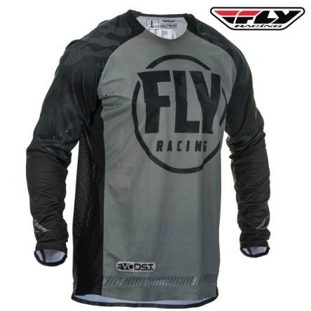 Dres FLY RACING Evolution 2020 (černá/šedá)