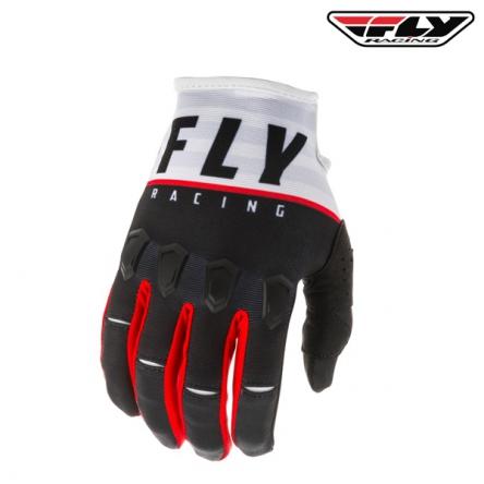 dětské rukavice FLY RACING Kinetic K120 2020 (černá/bílá)