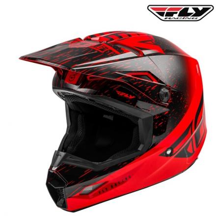 Helma FLY RACING Kinetic K120 (červená/černá)