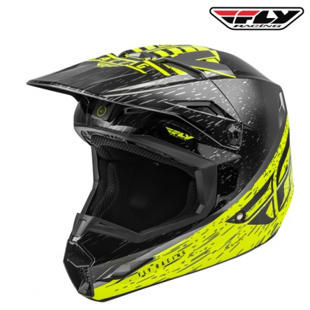 Helma FLY RACING Kinetic K120 (hi-vis/šedá)