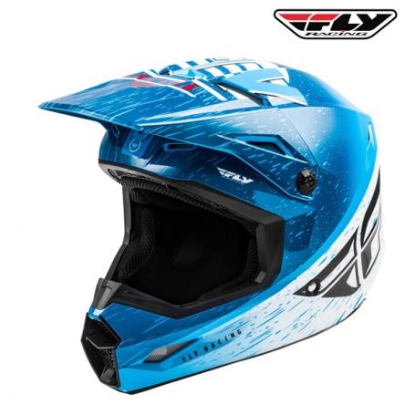 Helma FLY RACING Kinetic K120 (modrá/bílá)